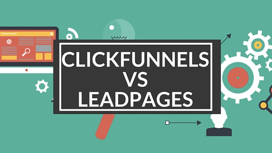 Image result for Clickfunnels vs Leadpages